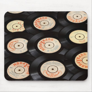 Vinyl Records Mouse Pad