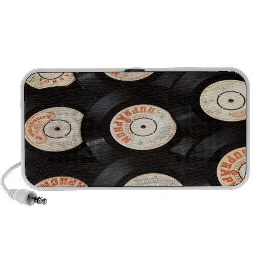 Vinyl Records iPhone Speakers