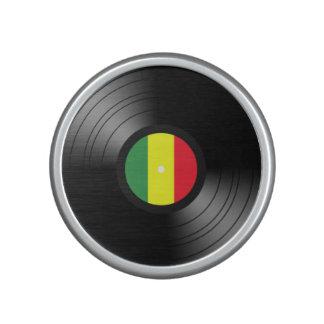 Vinyl reggae speaker