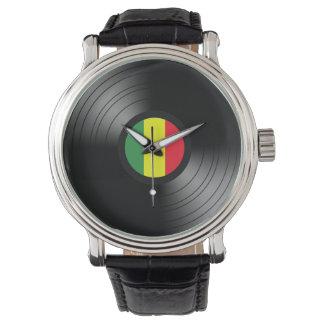 Vinyl reggae watches