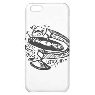 Vinyl Rocks My World 1 iPhone 5C Cover