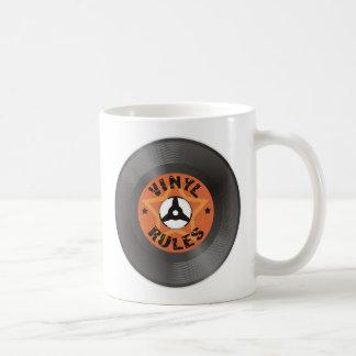 Vinyl Rules Coffee Mug