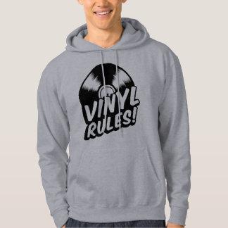 vinyl rules hoodie