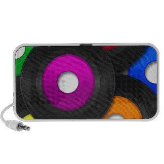 Vinyl Travelling Speakers