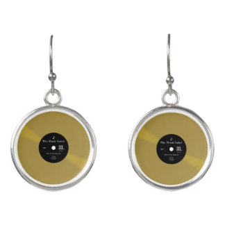 Vinyl - The Collectors' Edition Earrings