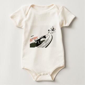 Vinyl Turntable Baby Bodysuit