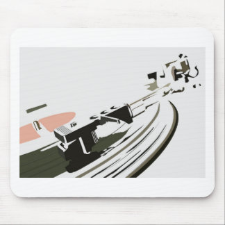 Vinyl Turntable Mouse Pad