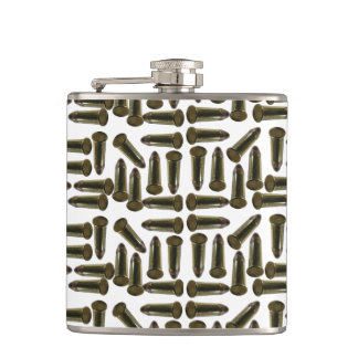 Vinyl Wrapped Flask ammunition for sport target Lo