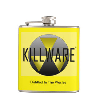 Vinyl Wrapped KillWare® Flask