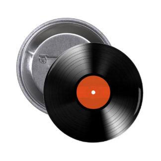 Vinyle Record 6 Cm Round Badge