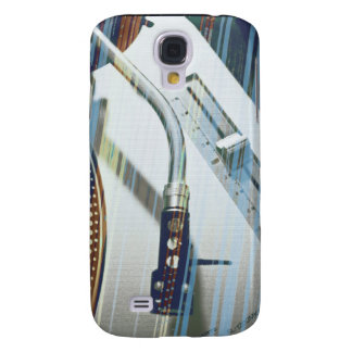 vinylrain Red blues Galaxy S4 Case
