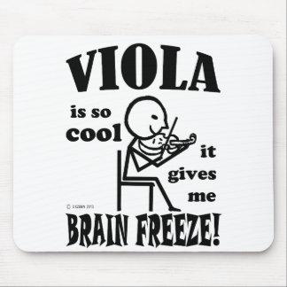 Viola Brain Freeze Mouse Pad