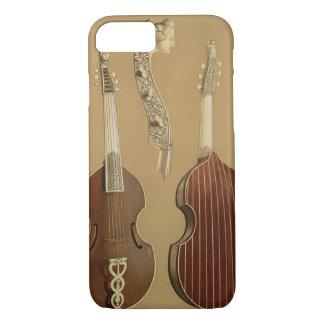 Viola da Gamba, or bass viol, by Joachim Tielke (1 iPhone 7 Case