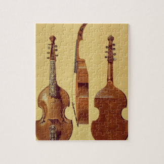 Viola d'Amore, 18th century, from 'Musical Instrum Jigsaw Puzzle