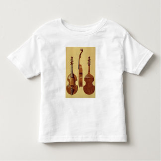 Viola d'Amore, 18th century, from 'Musical Instrum Toddler T-Shirt