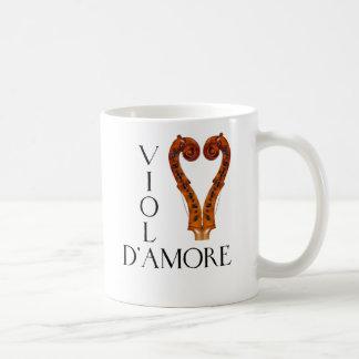Viola d'Amore Basic White Mug