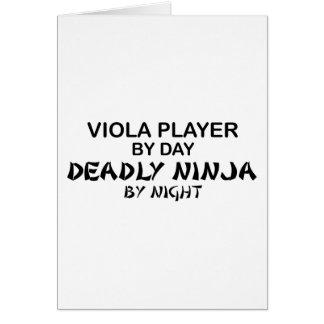 Viola Deadly Ninja by Night Card