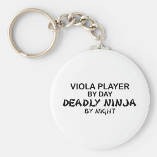 Viola Deadly Ninja by Night Key Ring
