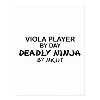 Viola Deadly Ninja by Night Postcard