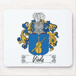 Viola Family Crest Mouse Pad