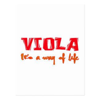 Viola It's a way of life Postcards