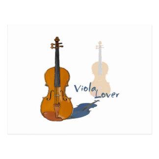 Viola Lover Postcard