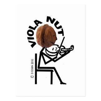 Viola Nut Postcard