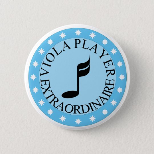 Viola Player Extraordinaire Button