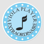 Viola Player Extraordinaire Sticker
