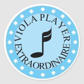 Viola Player Extraordinaire Sticker