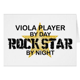 Viola Rock Star by Night Cards