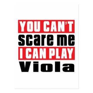 Viola Scare Designs Postcard