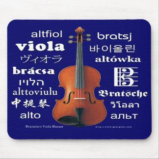 Viola Translations Mouse Pads