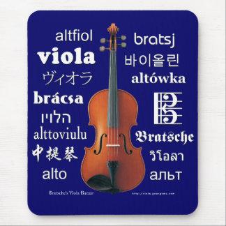 Viola Translations Mouse Pad