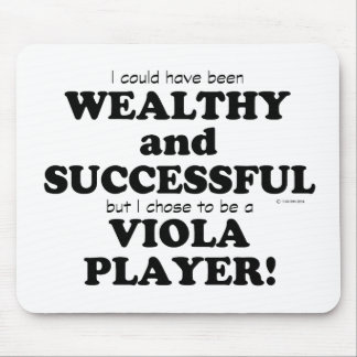 Viola Wealthy & Successful Mouse Pads