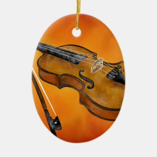 Violessina V1 - instrumental painting Christmas Ornament