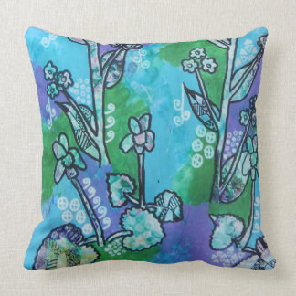 Violet and Alkanet Cushion