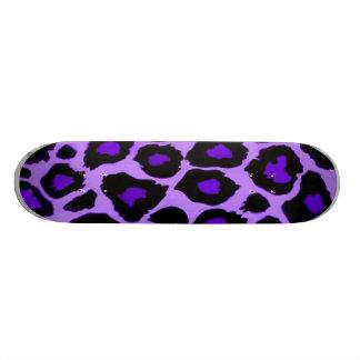 violet animal skate deck