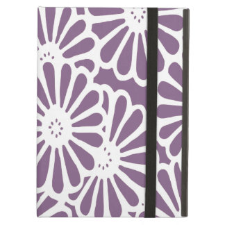 Violet Asian Moods Floral Cover For iPad Air