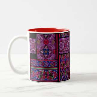 Violet Aurora Stained Glass Mug