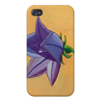 Violet balloon flower gouache painting pretty art case for the iPhone 4