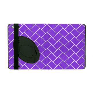 Violet Basket Weave iPad Case