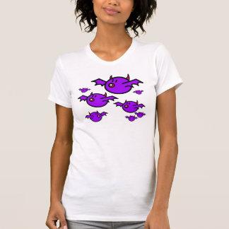 Violet Bats T-shirts