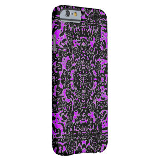 Violet Black Mosaic iPhone 6 case Barely There iPhone 6 Case