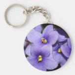 Violet Boquet Keychains
