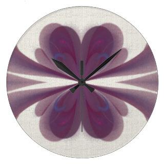 Violet Bow Fractal Clock