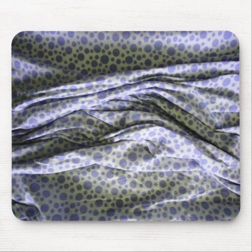 Violet Bubbles Fabric mousepad