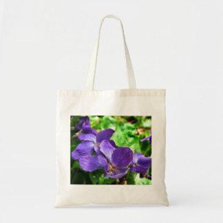 Violet Budget Tote Bag