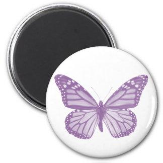 Violet Butterfly Magnet