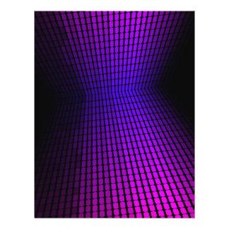Violet Equalizer Flyer